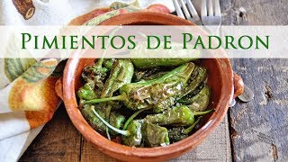 Blistered Padron Peppers - Pimientos de Padrón