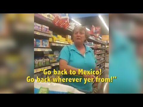 Walmart Shopper Goes On RACIST RANT In Arkansas | What's Trending Now!