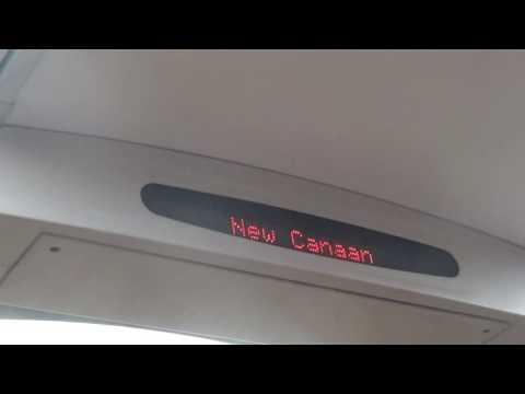 Metro North Commuter Train Ride: New Haven Line - Grand Central to Darien CT-Kawasaki M8
