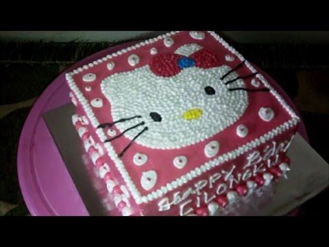 Kue Ultah Hello Kitty Petak 04 Kue Ulang Tahun