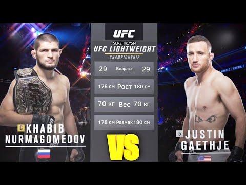 Хабиб Нурмагомедов и Джастин Гэджи где и когда состоится главный бой UFC 254