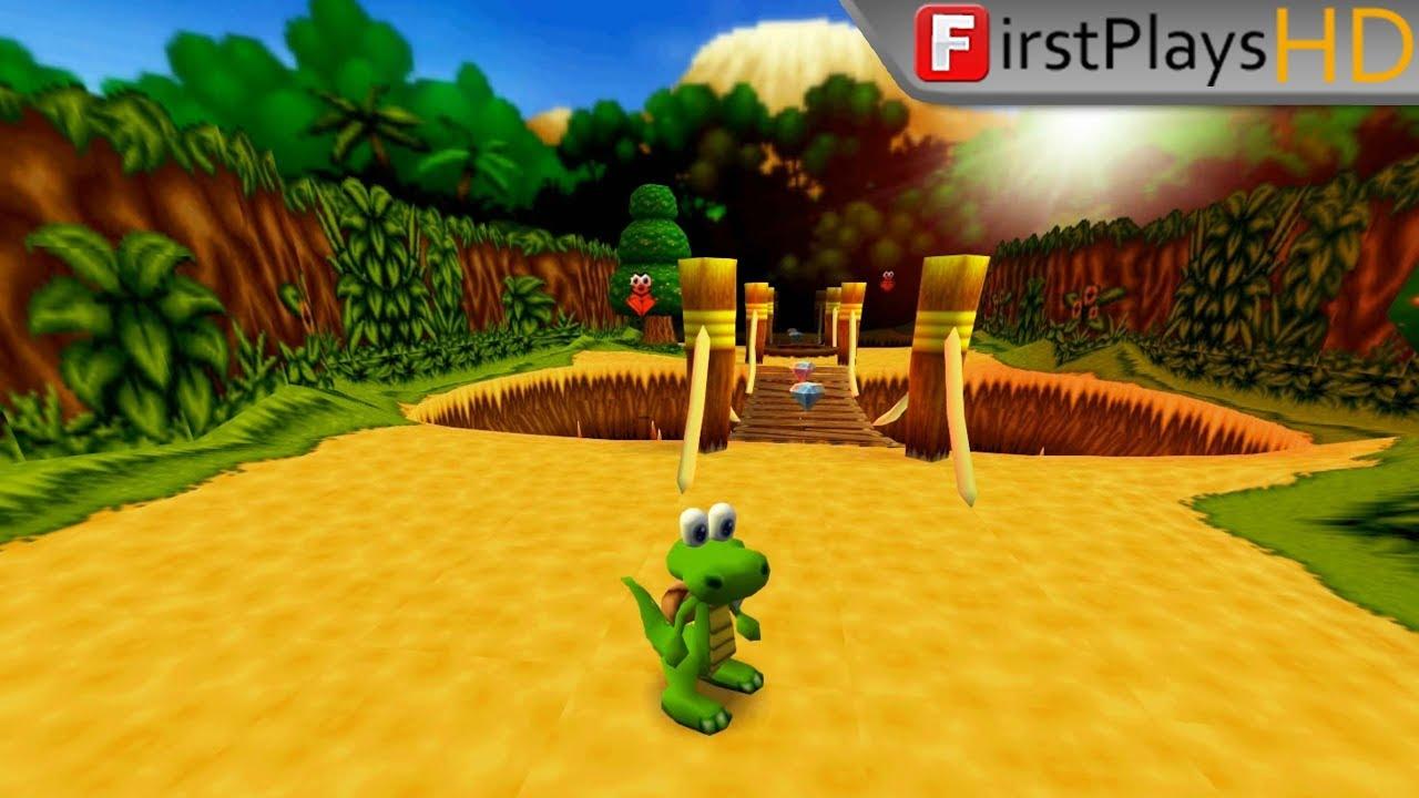 Croc 2 (2000) – PC Gameplay / Win 10
