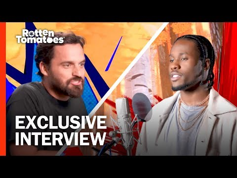 Jake Johnson Wanted to Get Weird with Nic Cage   'Spider-Man: Into the Spider-Verse' Interview