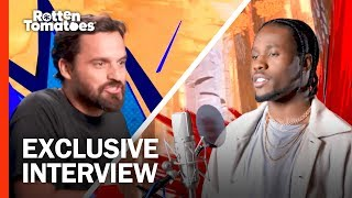 Jake Johnson Wanted to Get Weird with Nic Cage | 'Spider-Man: Into the Spider-Verse' Interview