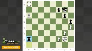 Chess Endgames: Rook & Extra Pawn