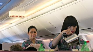 Malaysia Airlines Flight Experience: MH765 Siem Reap to Kuala Lumpur