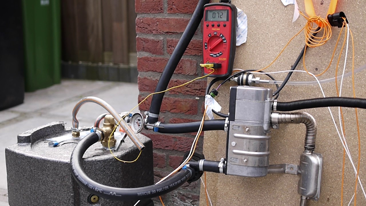 Cold Start Eberspacher Hydronic D5wz With 13l Boiler For Hot Thermostat Are Connected To At The Furnacehere Is A Typical Wiring Drinking Water
