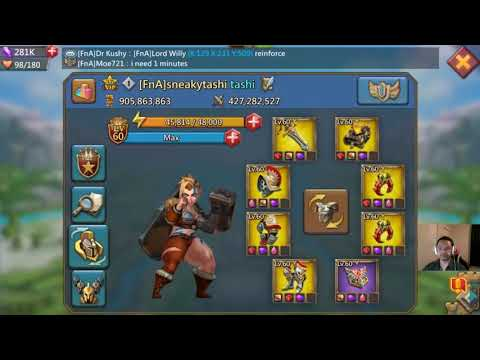 Download Youtube: Lords Mobile - FnA vs S9S & Dos Double Rallies | FnA & CAO/M44 Rally Traps