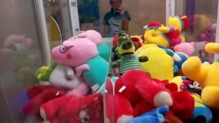Опять играю в игровой автомат с игрушками за 1 евро