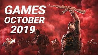 15 Upcoming Games Of October 2019  Pc , Ps4 , Xbox One , Nintendo Switch