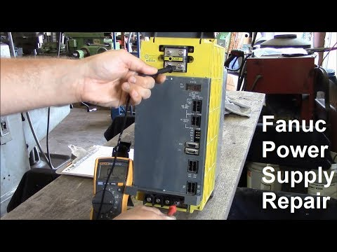 Fanuc Power Supply Repair and Other Electrical Adventures