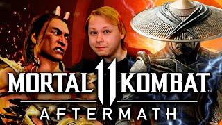 Mortal Kombat 11 Aftermath - ОБЗОР -  Год спустя
