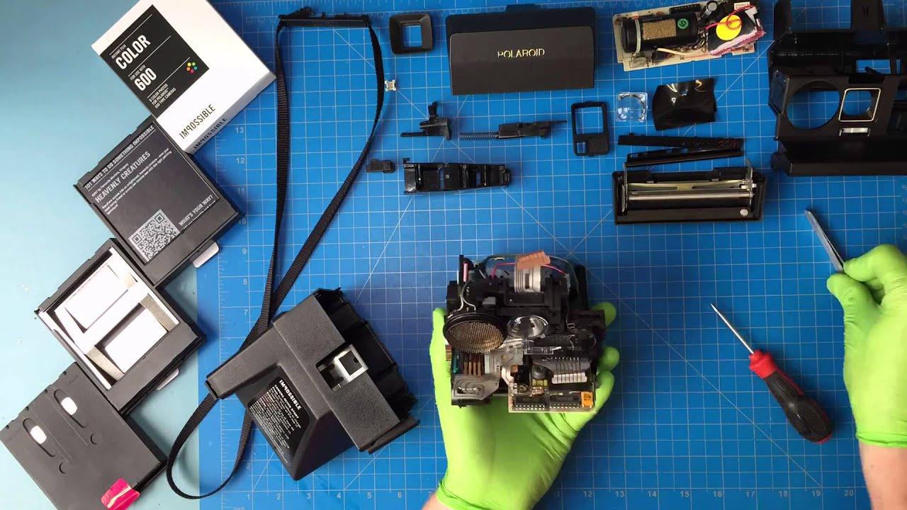 polaroid 600 repair youtube. Black Bedroom Furniture Sets. Home Design Ideas