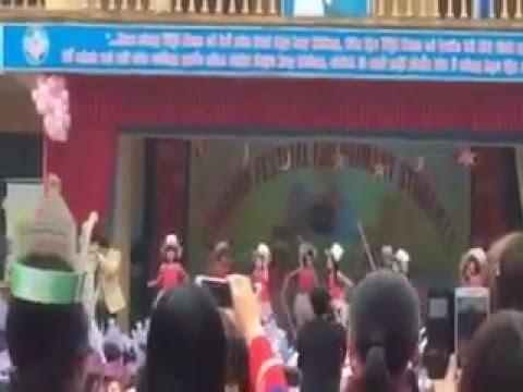 NGAY HOI TIENG ANH (ENGLISH FESTIVAL DAY) CAP TIEU HOC CUA HUYEN LUC NAM (13-3-2016)