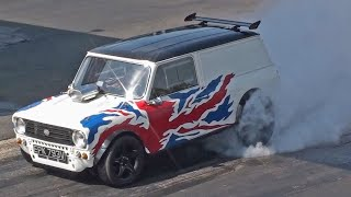 Mini Traveller runs 12.37 at 108 mph