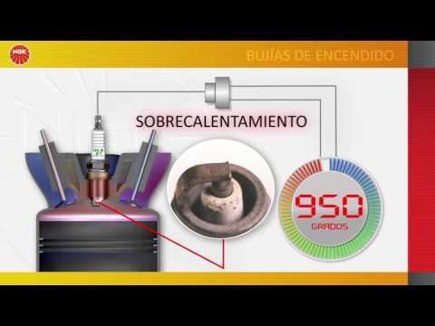 Video técnico NGK N°3: Aplicación bujía fria o caliente