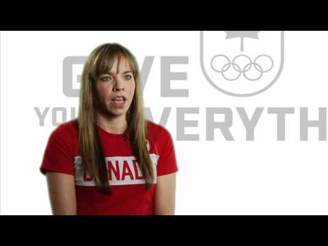 Karen Cockburn Canadian Olympic Team Give Your Everything