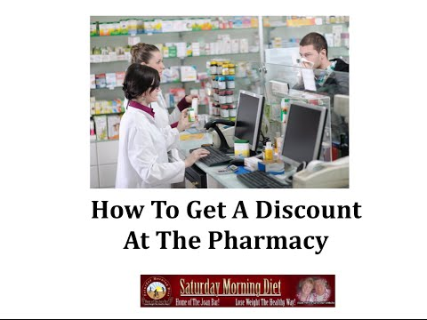 How To Get A Discount At The Pharmacy