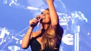 Mariah Carey - #1 to Inifinity Concert Highlight (VIDEO)