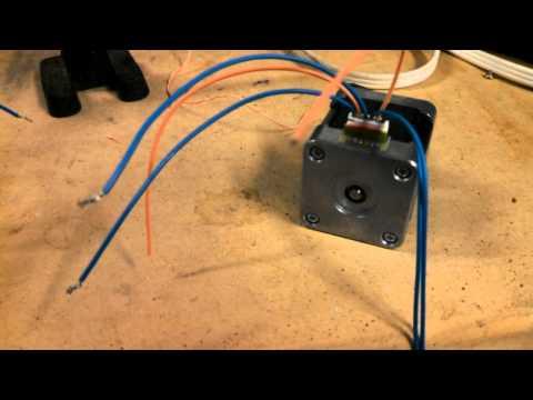 Testing stepper motors youtube for How to test stepper motor