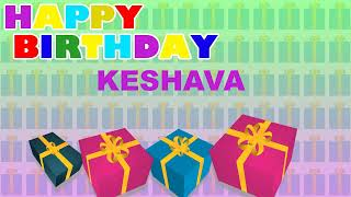 Keshava - Card Tarjeta_10 - Happy Birthday