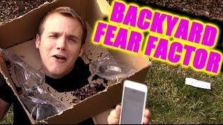 Backyard Fear Factor - Human Target Practice w/ Eggs -   Riding Bikes Through Walmart | TC #116