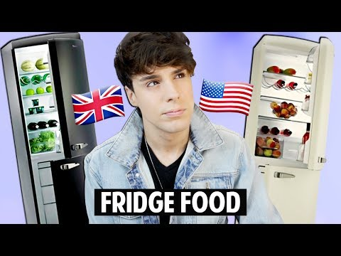 Thumbnail: AMERICAN vs. BRITISH Refrigerator Food