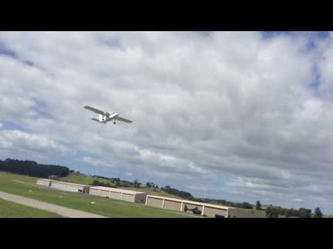 Britain Norman Islander Barrier Air taking off