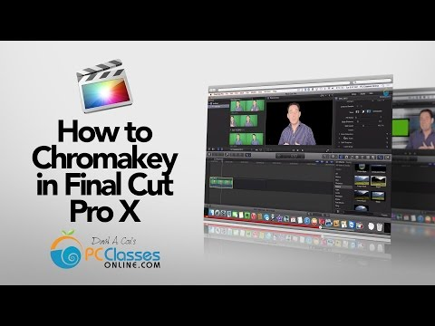 How to Chromakey in Final Cut Pro X