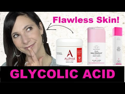Glycolic Acid| What does it do?| What is it Used for?| Mature Skin| Oily Skin Over 40| Dr. Dani