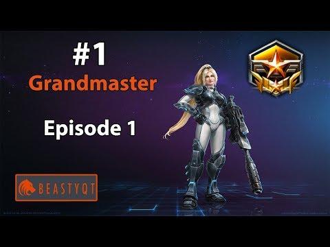 StarCraft 2: NEW SERIES!!!! - Going For RANK ONE Grandmaster! - Episode 1