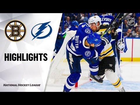 NHL Highlights   Bruins @ Lightning 12/12/19
