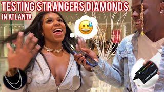 Testing Strangers Diamonds 3 😭💎 Atlanta Mall Edition | Public Interview