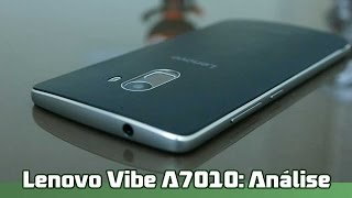Lenovo Vibe A7010: Análise completa [Review BR]