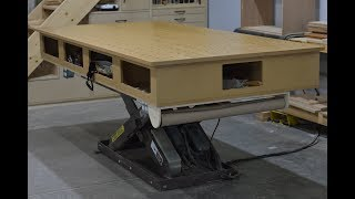 A Modern Cabinet Makers Bench For Woodworking & Carpentry