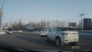Проезд по кольцу Юрина - Малахова г. Барнаул