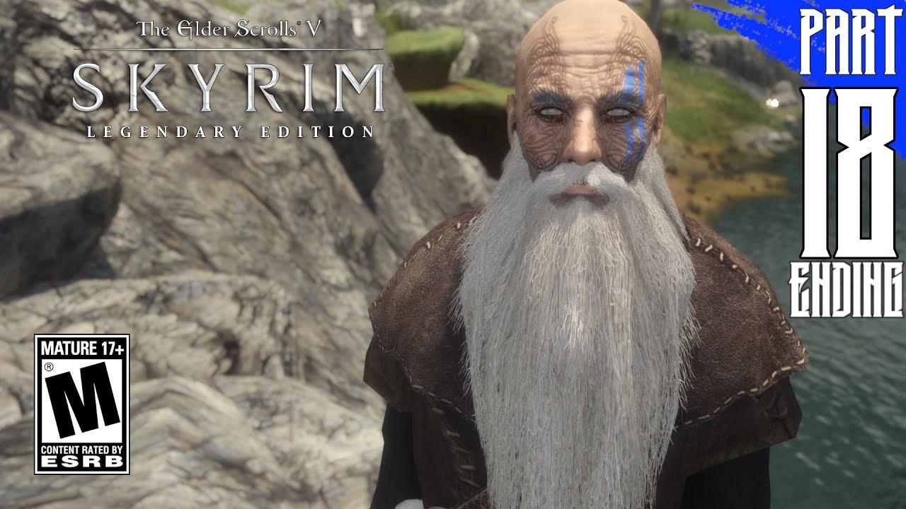 【SKYRIM 200+ MODS】Nord Gameplay Walkthrough Part 18 - Ending [PC - HD]