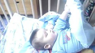 CUTE BABY TWINS ROLLING CRAWLING