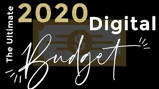 How to Budget and Save Like a Pro ! Your 2020 Digital Budget w/ ** FREE Download** | Brittany Daniel
