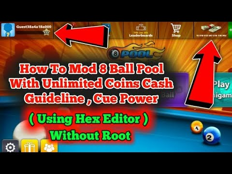 live ! 8 ball pool hack trick by shot| unlimated trick|2018-2019