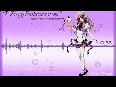 Authentic symphony [Nightcore] Lyrics