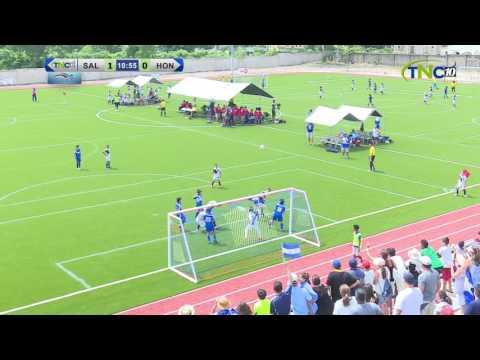 CODICADER 2016 FOOTBALL EL SALVADOR VS HONDURAS BOYS