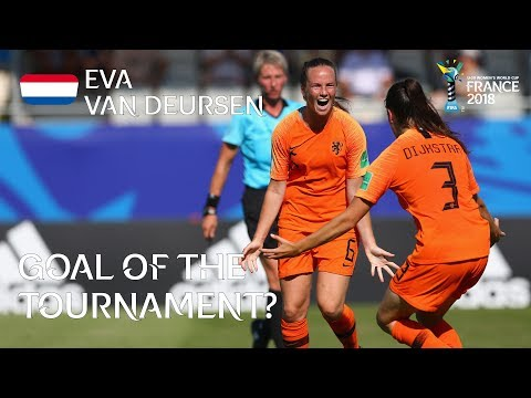 Eva VAN DEURSEN - GOAL OF THE TOURNAMENT Nominee