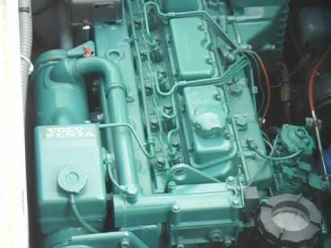 volvo penta diesel ad41a 200 hp 1900 hrs youtube rh youtube com Volvo Penta Authorized Dealers Volvo Penta Boat