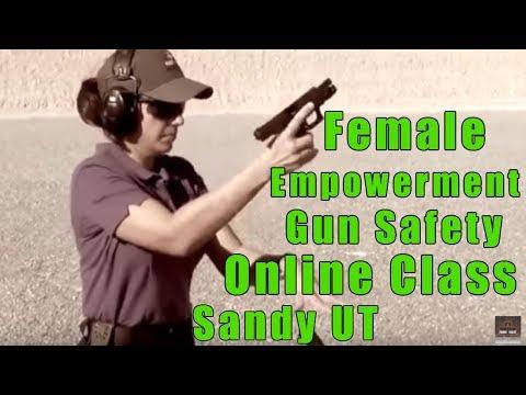 Female Empowerment Gun Safety Online Class-Ladies Empowerment Gun Safety Online Class-Sandy UT