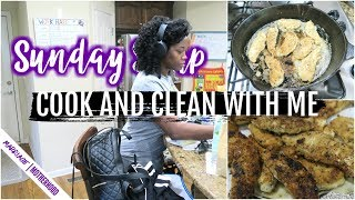 SUNDAY SETUP! Cook and Clean with me 2019 | Get all the things done 💪