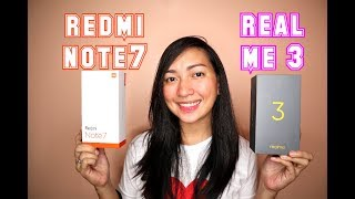 REDMI NOTE 7 Vs REALME 3 (PUBG,Camera,Battery and Specs) Tagalog Review