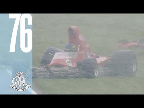F5000 Lola's Goodwood snow crash