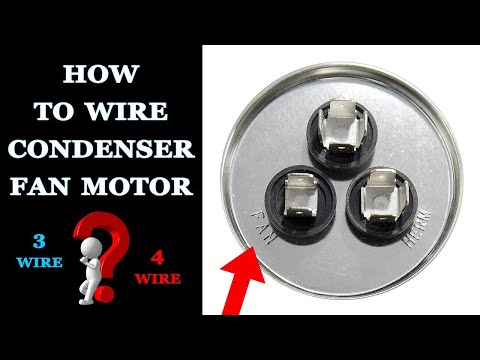 [SCHEMATICS_4UK]  How to Wire a Condenser Fan Motor - YouTube | Ac Condenser Fan Motor Wiring |  | YouTube