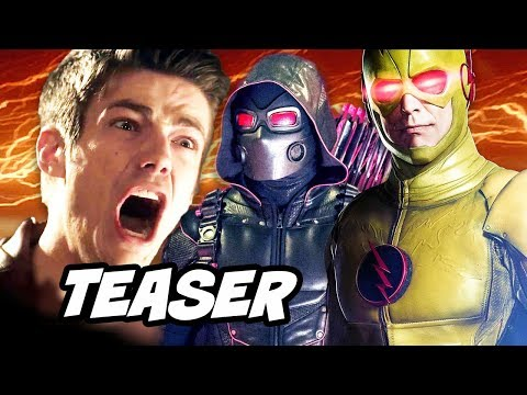 Download Youtube: The Flash Season 4 Arrow Supergirl Crossover Teaser Trailer and Arrow 6x06